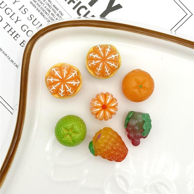 resin fruit resin accessories