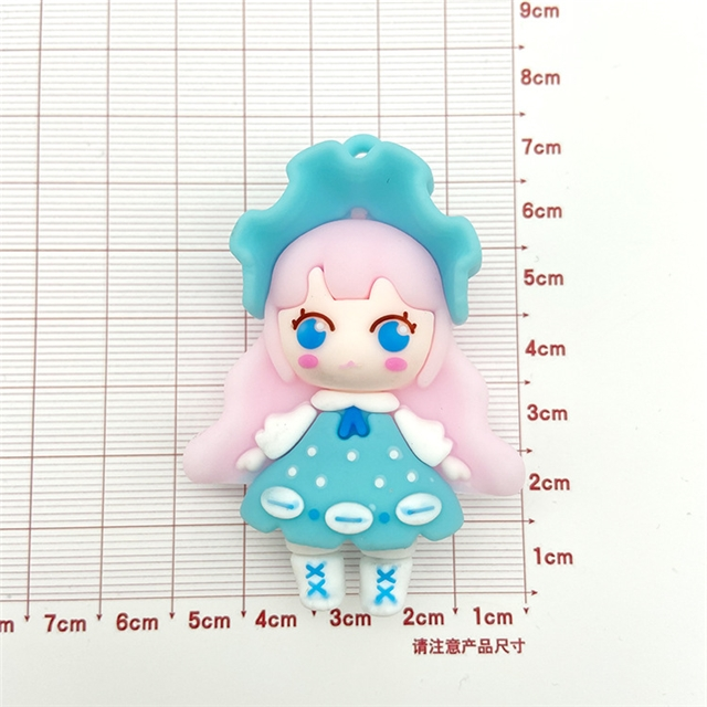 resin cartoon girl resin accessories