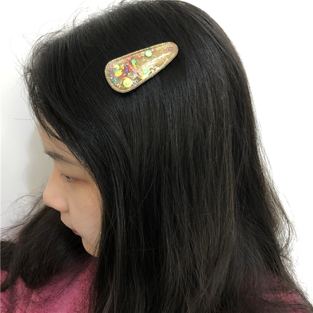 56*28mm translucent filled sequin accessories(small cut on the back,without hair clips)